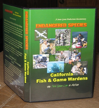 Pictures endangered species california fish and game wardens for Ca fish and game